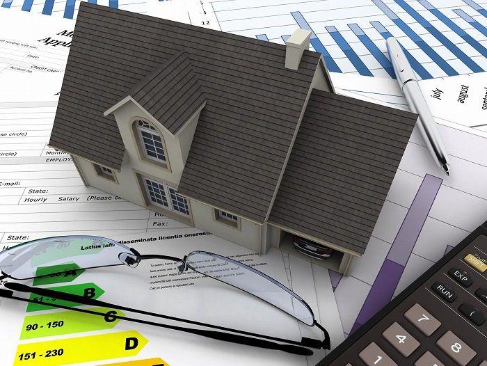 路線価の書類と家