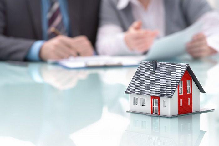 不動産の買取り交渉の様子