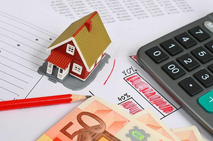 不動産の買取保証がお得か計算している画像